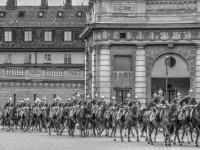 <h2>Changing of the Guard at the Royal Palace in Stockholm