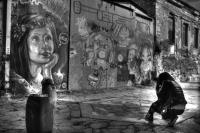 <h2>Shooting graffiti
